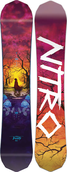 2021 Nitro  Womens Beauty  Snowboard