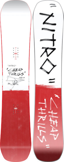 2021 Nitro Cheap Thrills Snowboard