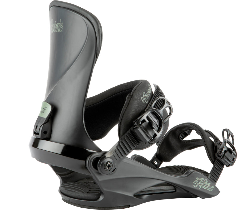 2021 Nitro  Womens Cosmic  Snowboard Binding in Ultra Black