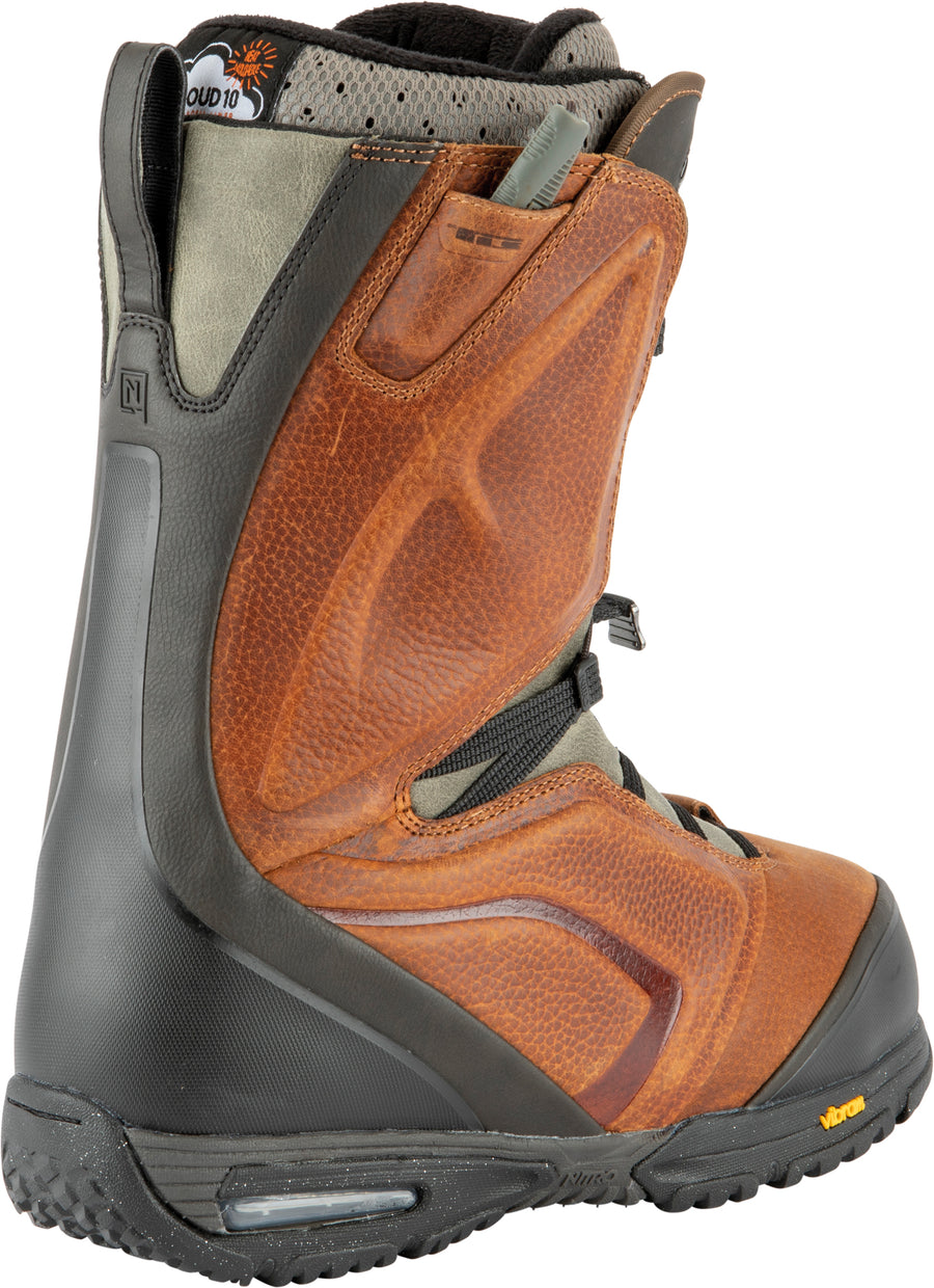 2021 Nitro El Mejor Tls Snowboard Boots in Brown and Black