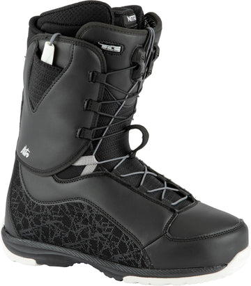 2021 Nitro Futura TLS Snowboard Boots in Black and White