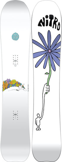 2021 Nitro Mountain X Grif Snowboard for real