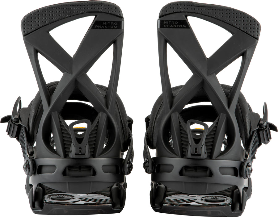 2021 Nitro Phantom Snowboard Binding in Ultra Black