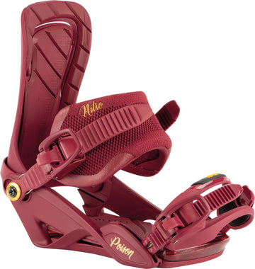 2021 Nitro  Womens Poison  Snowboard Binding in Royal Red