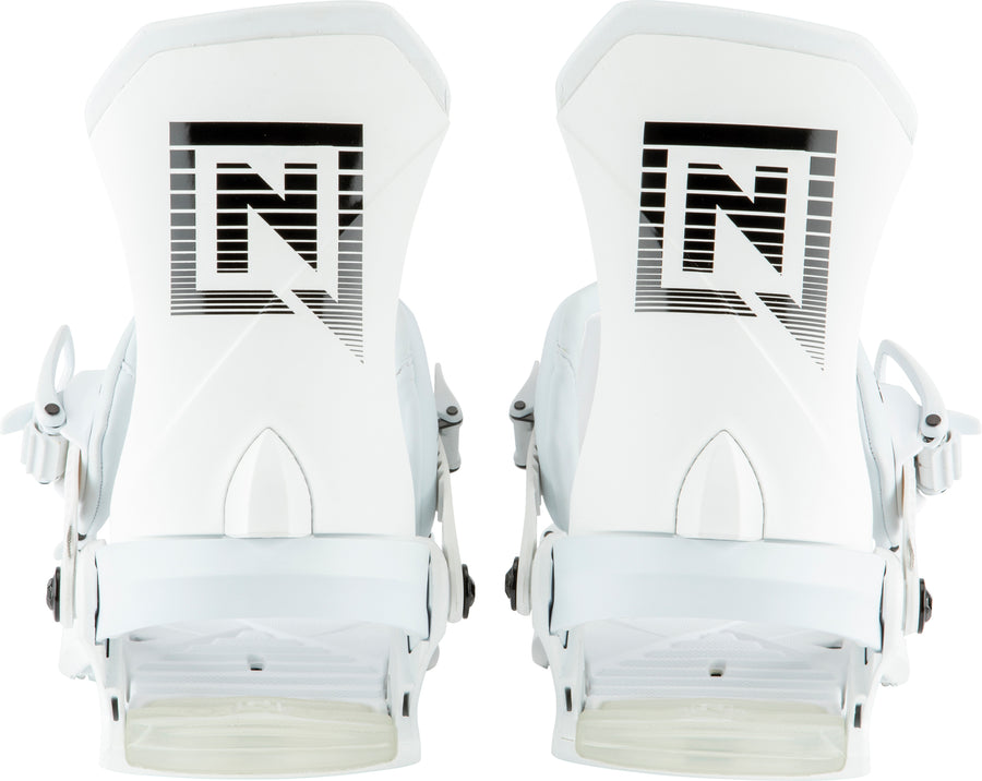 2021 Nitro Team Pro Snowboard Binding in White Shadow
