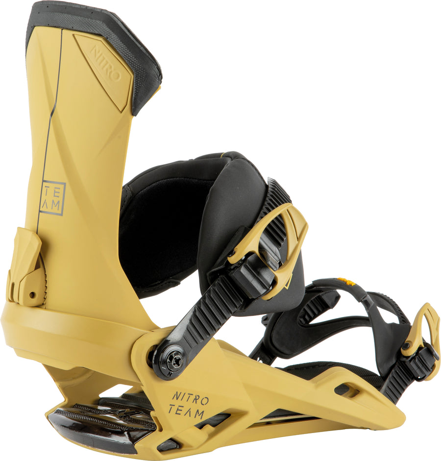 2021 Nitro Team Snowboard Binding in Clay