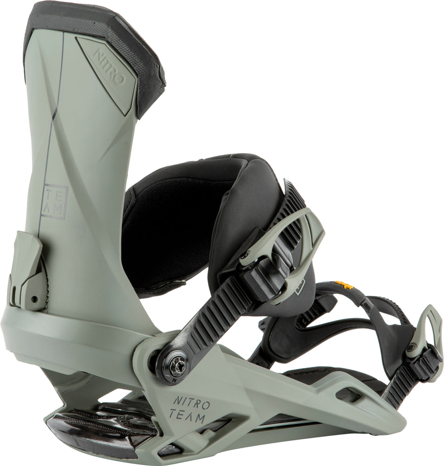 2021 Nitro Team Snowboard Binding in Stone