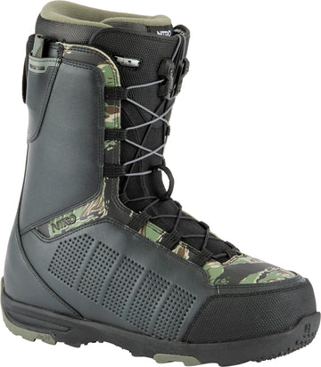 2021 Nitro Thunder Tls Snowboard Boots in Black Army and Camo