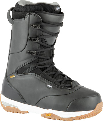 2021 Nitro Venture Pro Standard Lace Snowboard Boots in Black White and Gold
