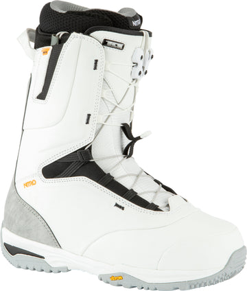 2021 Nitro Venture Pro Tls Snowboard Boots in Off White and Black