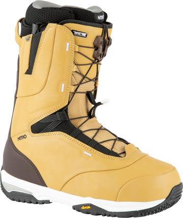 2021 Nitro Venture Pro Tls Snowboard Boots in Tan and Black
