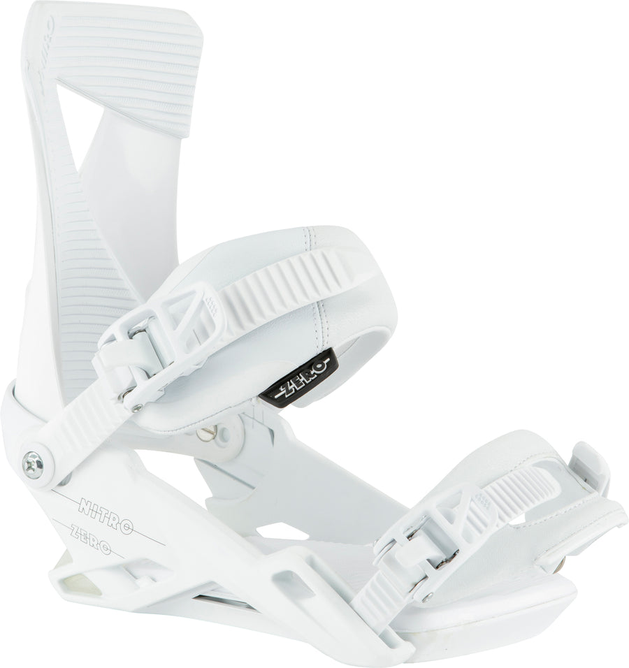 2021 Nitro Zero Snowboard Binding in White