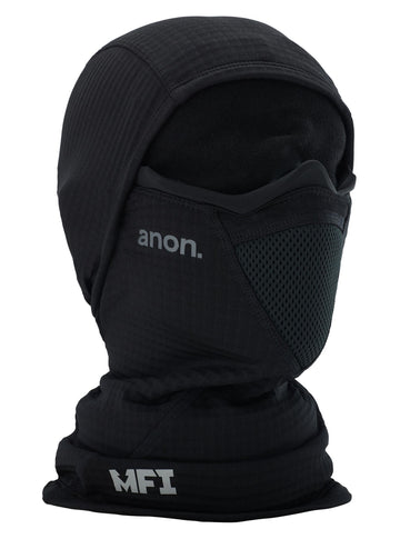 2021 Anon Mens MFI Tech Balaclava in Black
