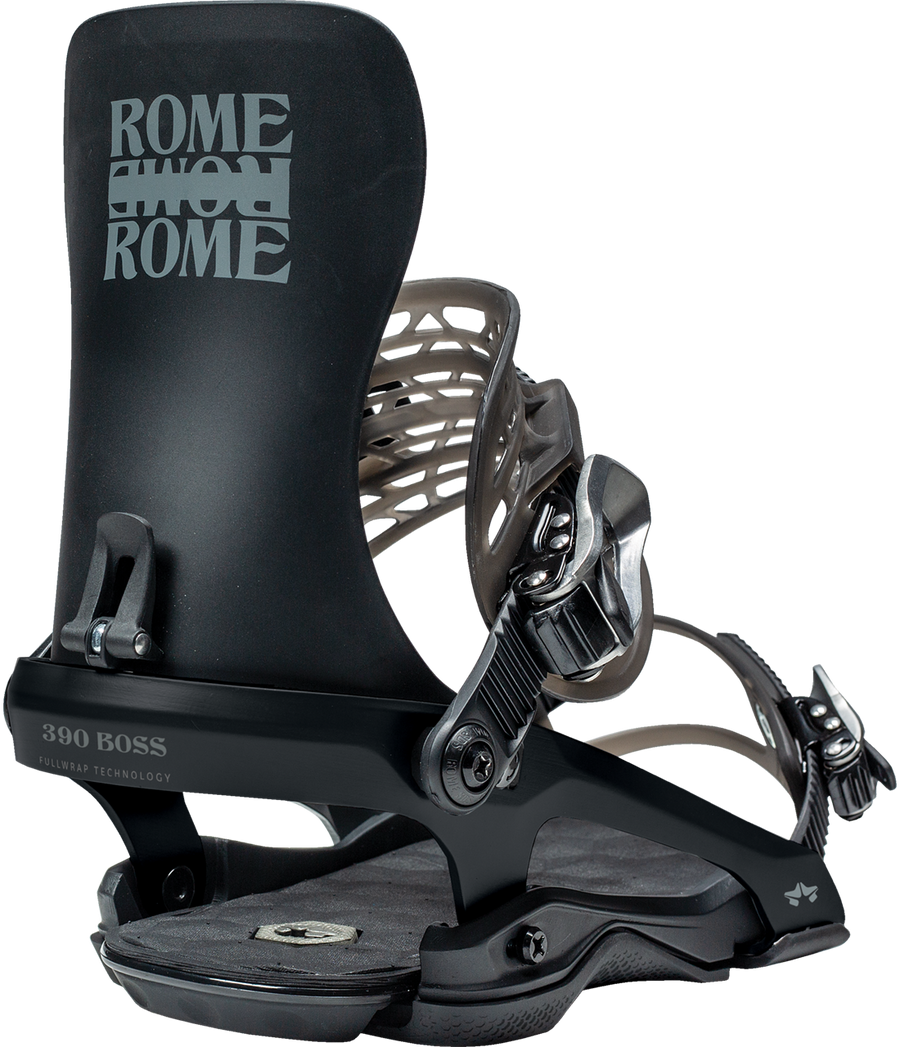 2021 Rome 390 Snowboard Binding in Black
