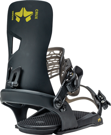 2021 Rome Crux Snowboard Binding in Black