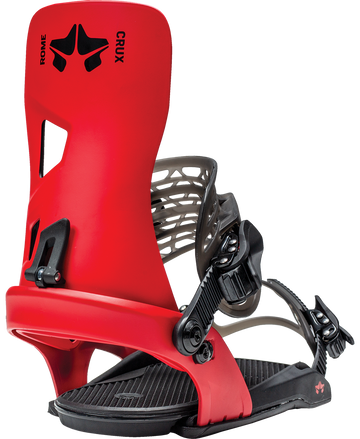 2021 Rome Crux Snowboard Binding in Red