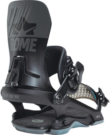 2021 Rome D.O.D. Snowboard Binding in Black