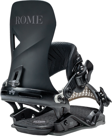 2021 Rome Vice Snowboard Binding in Black
