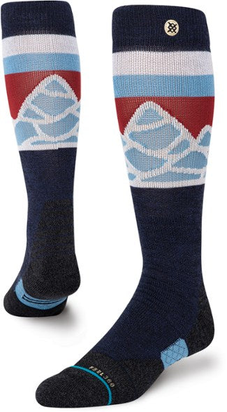 2021 Stance Spillway Snow Sock in Navy Blue