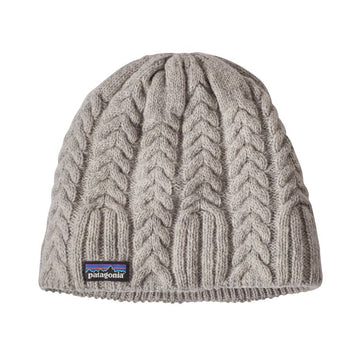 Patagonia Womens Cable Beanie in Drifter Grey