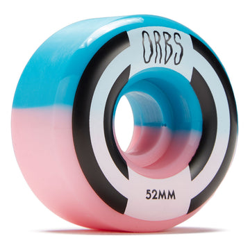 Orbs Apparitions Splits Pink and Blue Skate Wheel 99a in 52mm