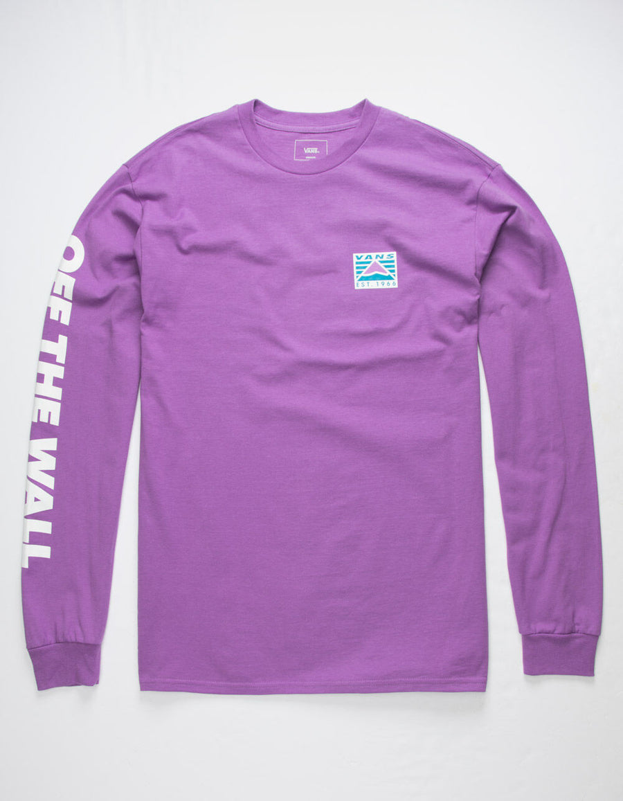 Vans Hi-Point Long Sleeve Tee in DewBerry