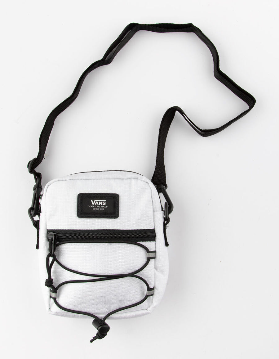Vans Bail Shoulder Bag in White