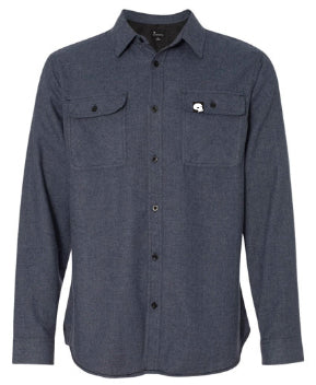 Milosport Blended Gray Flannel Shirt