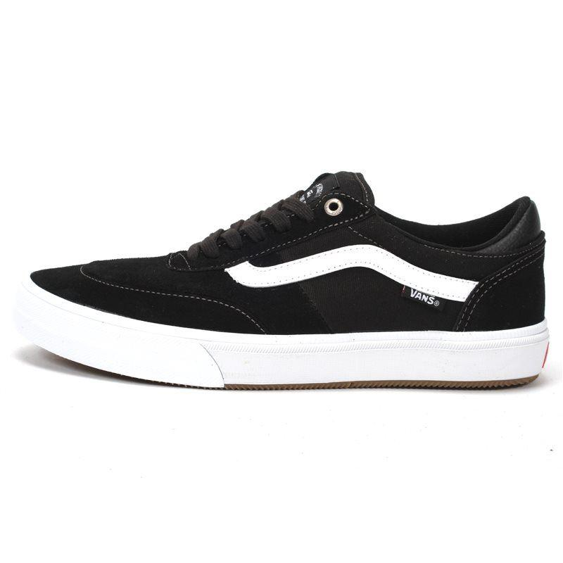 Vans Gilbert Crockett 2 Pro Shoe in Black and White