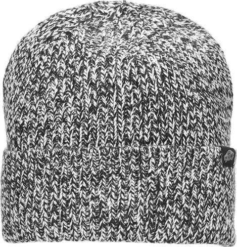 Vans Twilly Beanie in Black and Marshmallow