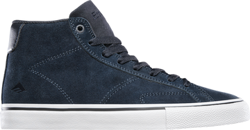 Emerica Omen Hi Skate Shoe in Navy