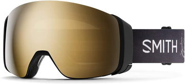2021 Smith 4D MAG Snow Goggle in a Markus Eder Frame with a ChromaPop Sun Black Gold Mirror Lens