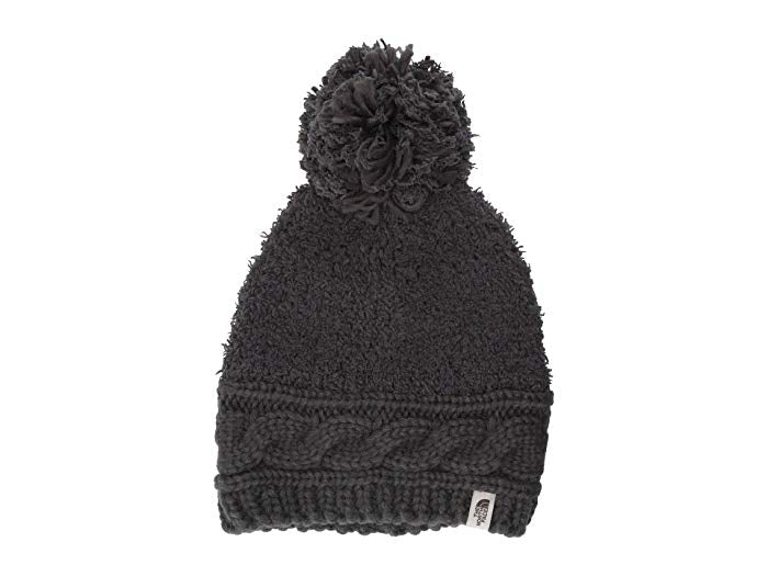 The North Face Womens Mixed Stitch Beanie in Asphalt Grey