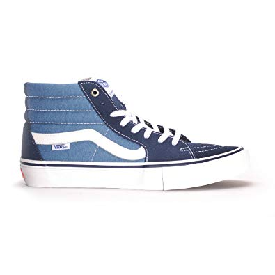 Vans Sk8 Hi Pro Shoe in Navy and Navy