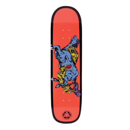 Welcome Goodbye Horses on Big Bunyip Shape Skate Deck in 8.5