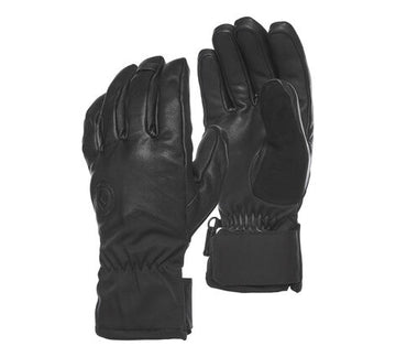 2020 Black Diamond Tour Gloves in Black