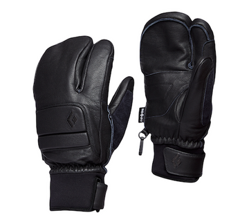 2021 Black Diamond Spark Finger Gloves in Smoke