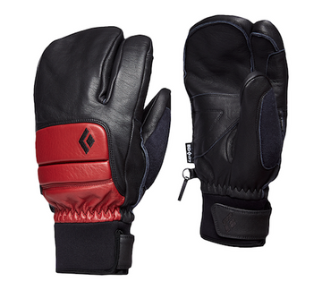 2021 Black Diamond Spark Finger Gloves in Dark Crimson