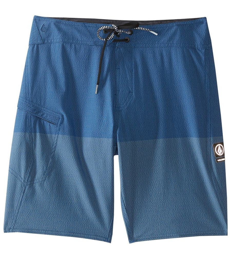 Volcom Lido Heather Mod 20'' Short in Tidal Blue