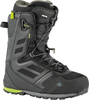 2022 Nitro Incline Tls Snowboard Boots in Black and Lime