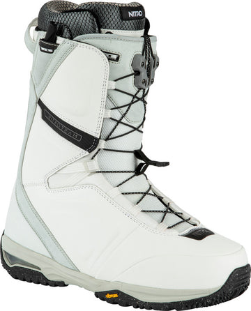 2022 Nitro Team Tls Snowboard Boots in White and Black