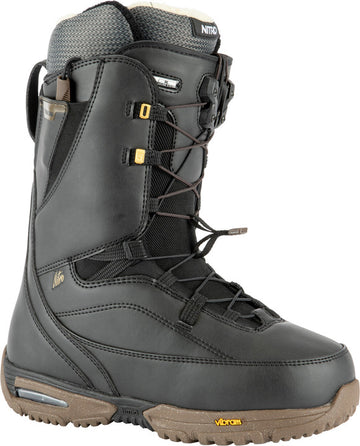 2022 Nitro Faint Tls Womens Snowboard Boots in Black and Gold