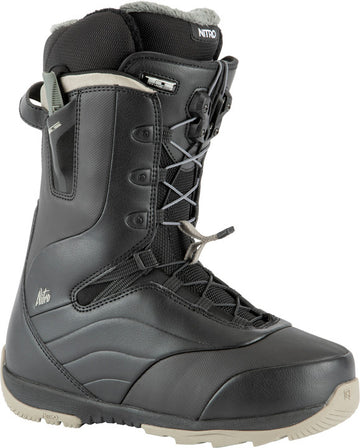 2022 Nitro Crown Tls Womens Snowboard Boots in Black
