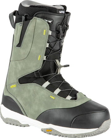 2022 Nitro Venture Pro Tls Snowboard Boots in Grey Black and Green