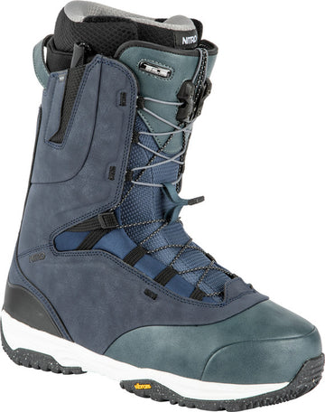 2022 Nitro Venture Pro Tls Snowboard Boots in Blue and Charcoal