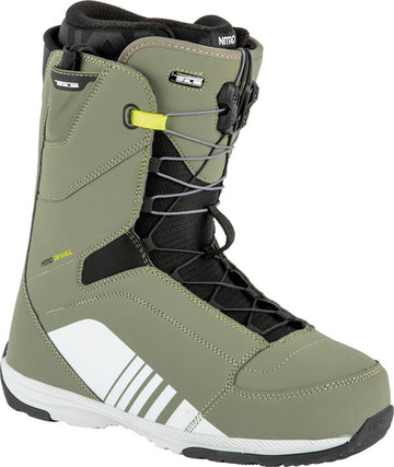 2022 Nitro Rival Tls Snowboard Boots in Gravity Grey and Black