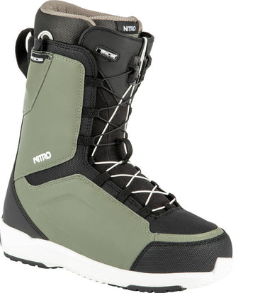 2022 Nitro Anthem Tls Snowboard Boots in Gravity Grey and Black