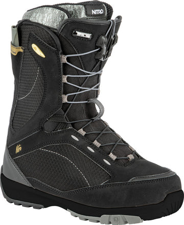 2022 Nitro Monarch Tls Womens Snowboard Boots in Black
