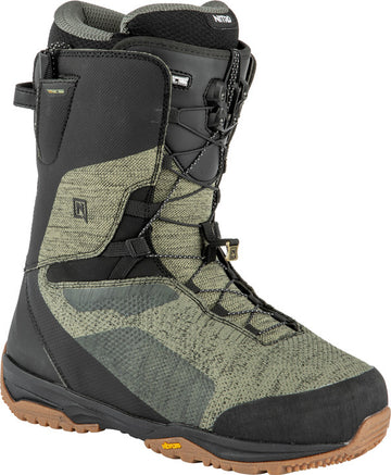 2022 Nitro Skylab Tls Snowboard Boots in Gravity Grey and Black
