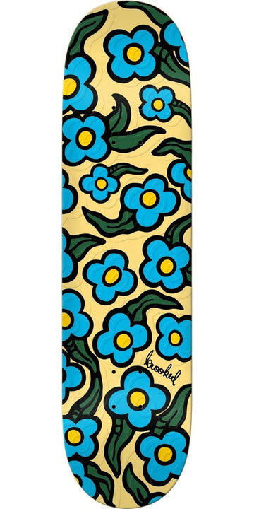 Krooked Wild Style Flower Skate Deck in 8.06